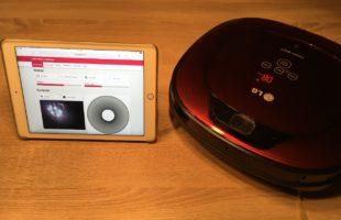 LG Hombot 3.0 – WLAN Steuerung