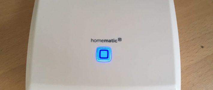 Homematic Migration / Umstellung CCU2 auf CCU3